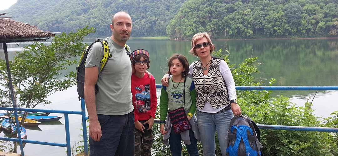 Lebanon Family for Deluxe Tour in Nepal