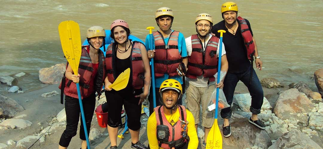 Adventure White Water River Rafting in Nepal